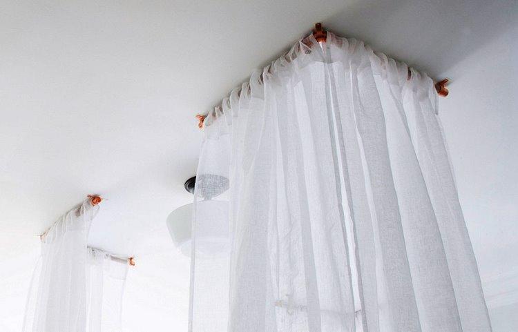 Yatağınızı Çevreleyen Perdeler